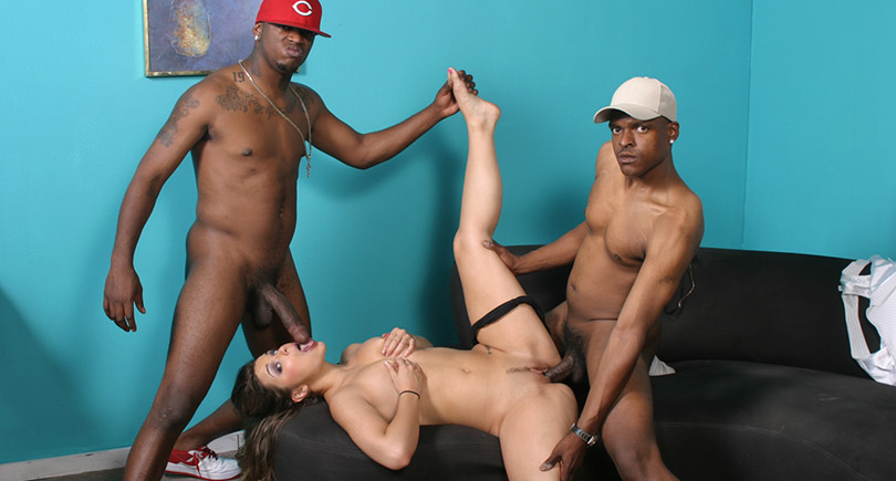 Fat guy gangbang